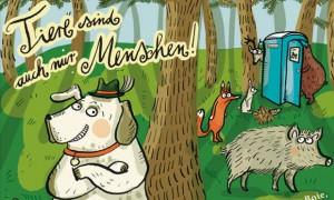 Kinder CD Tiere sind auch nur Menschen Oetinger Audio Tiergeschichten