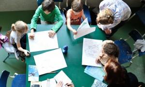 Architektur-Workshop für Kinder bei Building Blocks