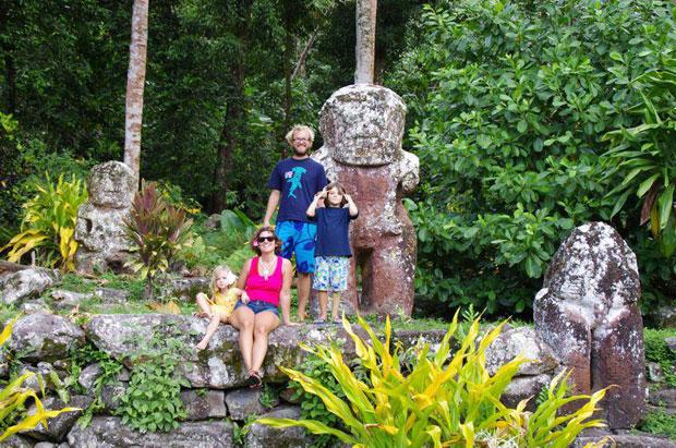 Reisen mit Kindern Hiva Oa