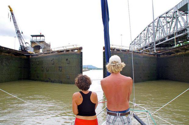 Reisen mit Kindern Panama Kanal
