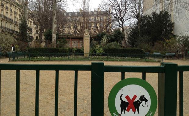 Paris-kleiner-Park