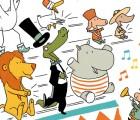 Kinderbuch Bilderbuch ab 3 Jahre Zirkusgeschichte Bravo Bravo von Ole Könnecke im Aladin Verlag Cover