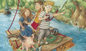 """Veranstaltung für Kinder in Berlin: Lesung """"Mission mit Schwein"""""""