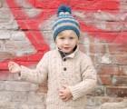 DIY Selber machen Kinder Bommel-Mütze selber stricken Anleitung © Claudia Steigleder