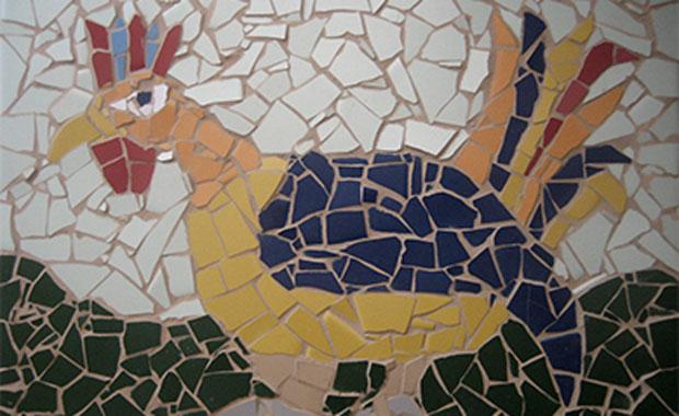 Veranstaltungen für Kinder: Gefrässige Mosaiktiere