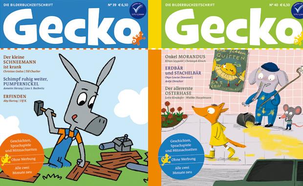 Gecko_Kinderzeitschrift_Cover39und40