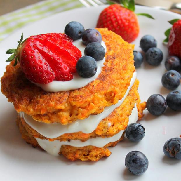 Moehrenkuchen-pancakes-wodieliebedentischdeckt