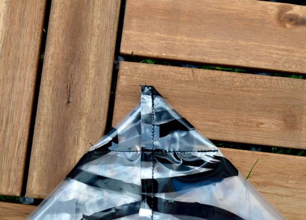 selber machen upcycling strandtasche himbeer magazin. Black Bedroom Furniture Sets. Home Design Ideas