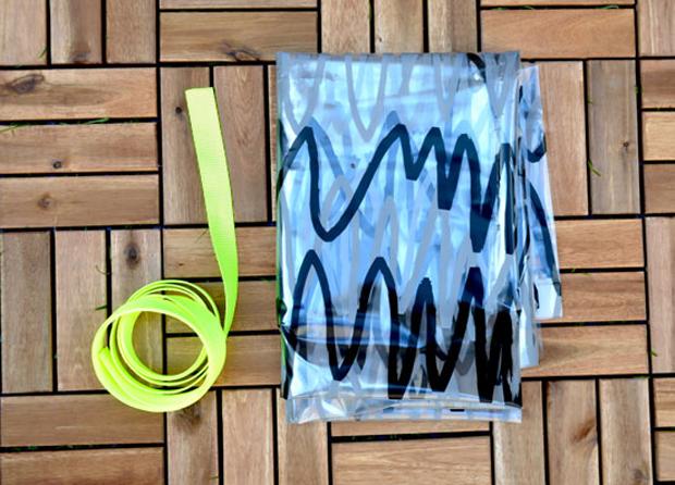 Strandtasche-Eigenwerk.Material