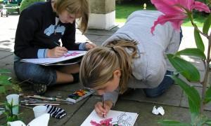 Veranstaltungen für Kinder: Der Außenraum im Innenraum