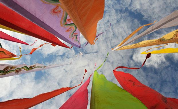 Veranstaltungen für Familien: Internationales Drachenfest