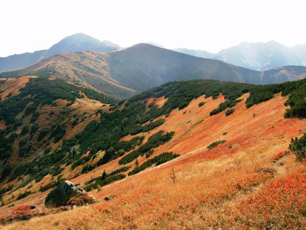 Landschaft-Tatrawandern
