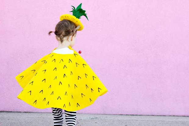 basteln mit kindern ananas kost m himbeer magazin. Black Bedroom Furniture Sets. Home Design Ideas