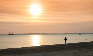 Sonnenuntergang_Jogger©Usedom-Tourismus