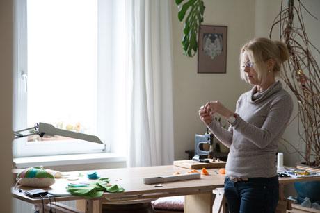 Hinter den Kulissen von Etsy: Atelierbesuch bei Kerstin Bauer von Petiti Panda, die wunderbare Stofftiere für Kinder produziert | HIMBEER Magazin