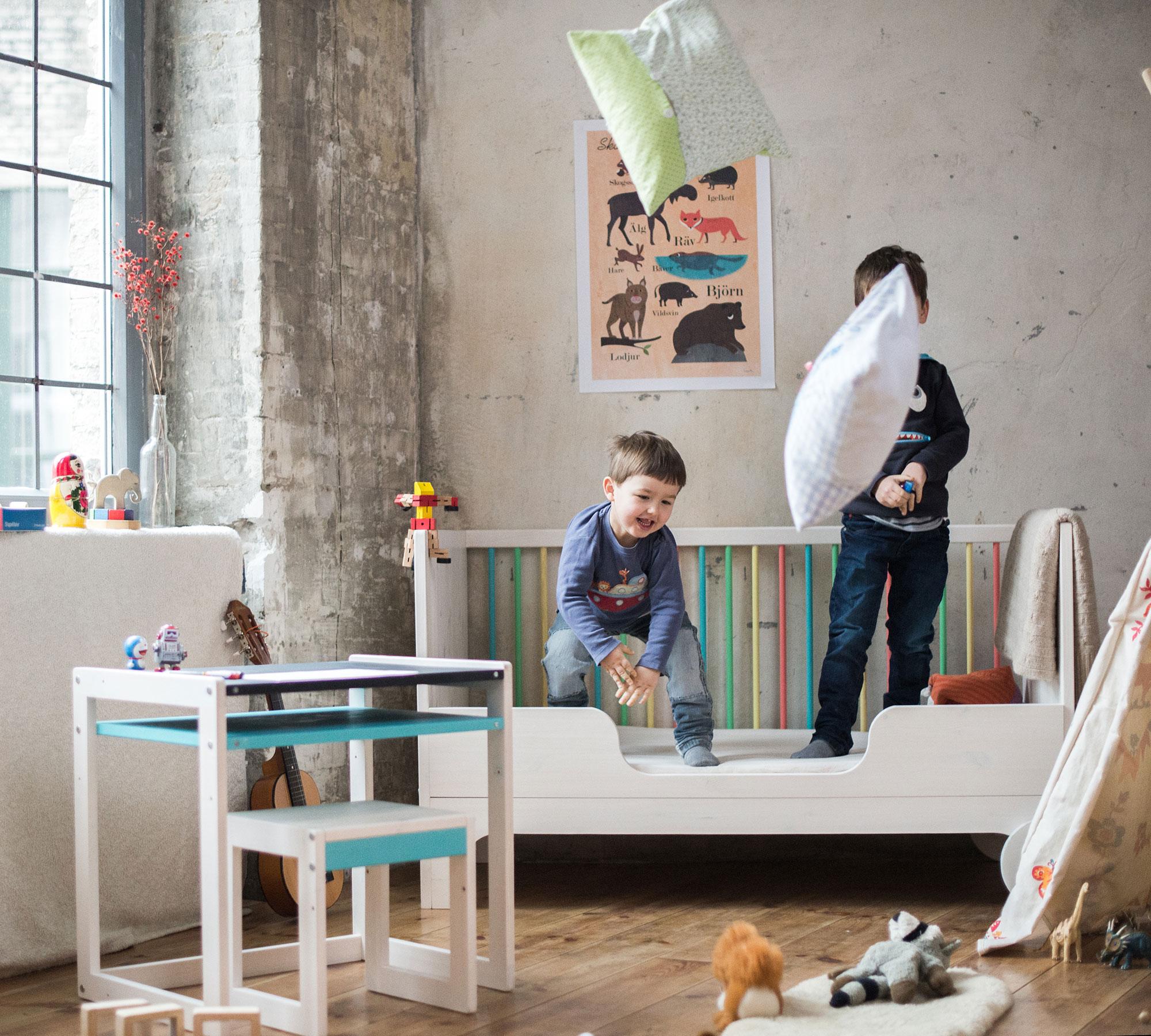 Kinderbett mitwachsend  Kindgerechtes Design – Kinderbetten für Kinder empfohlen von afilii
