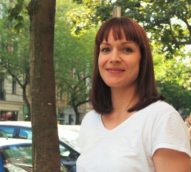 Sina Mayr arbeitet für Mami Poppins in Berlin