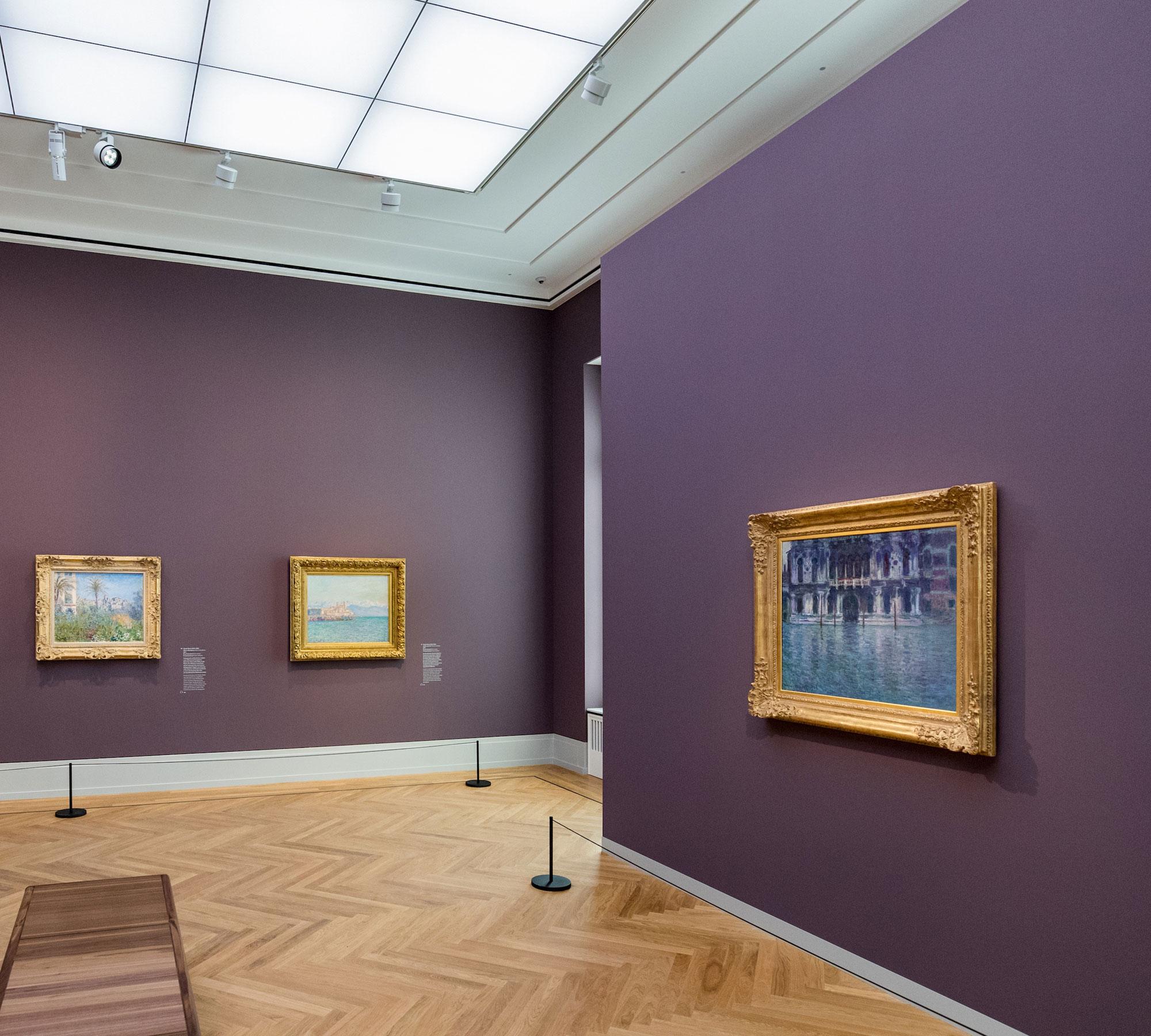 Ausstellung für Kinder und Familien in Berlin: Impressionismus. Die Kunst der Landschaft, © Museum Barberini, Foto: Helge Mundt | HIMBEER Magazin