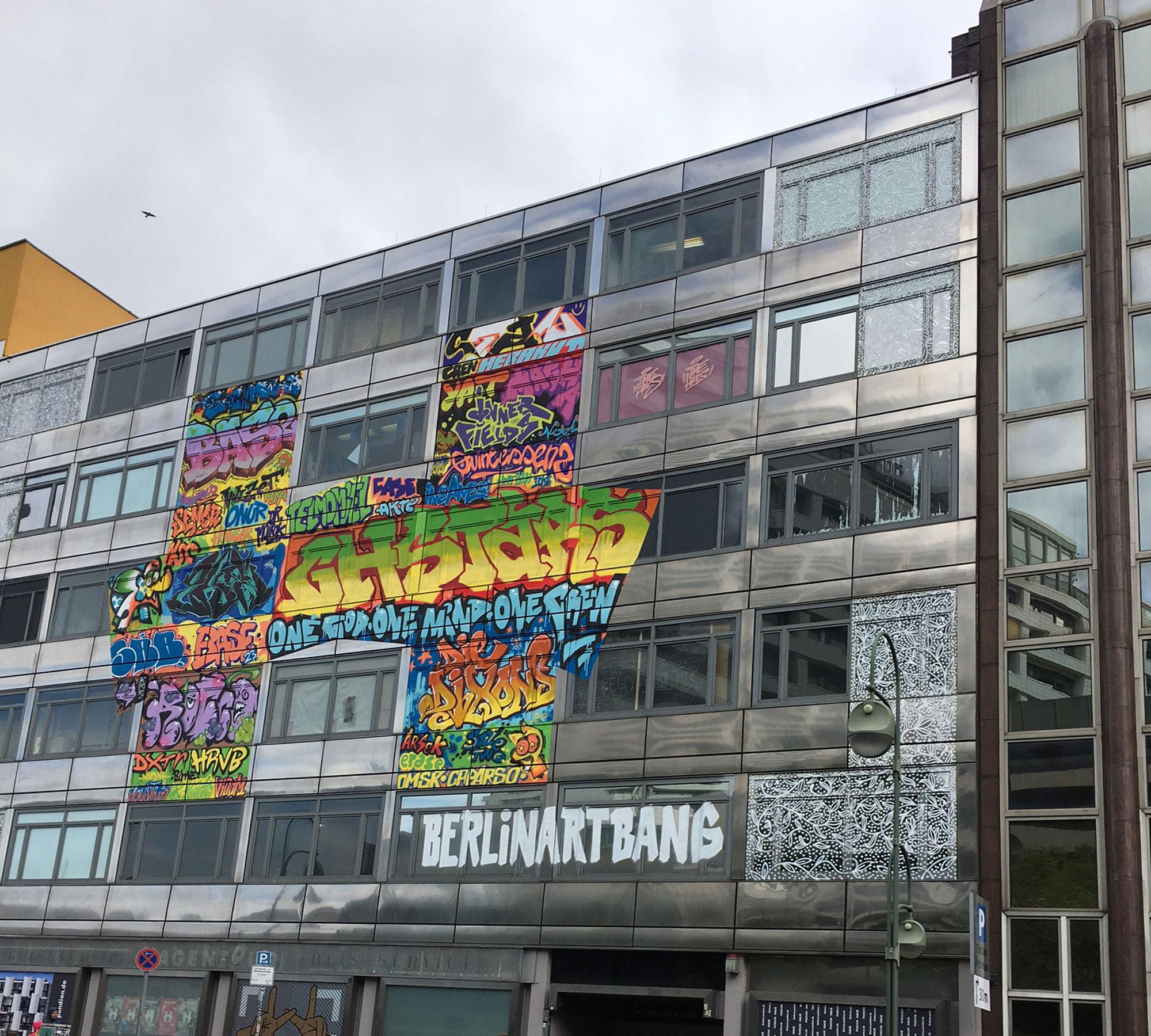 Top 10 für Teenies in Berlin: Das Street-Art-Projekt THE HAUS in Berlin | HIMBEER Magazin