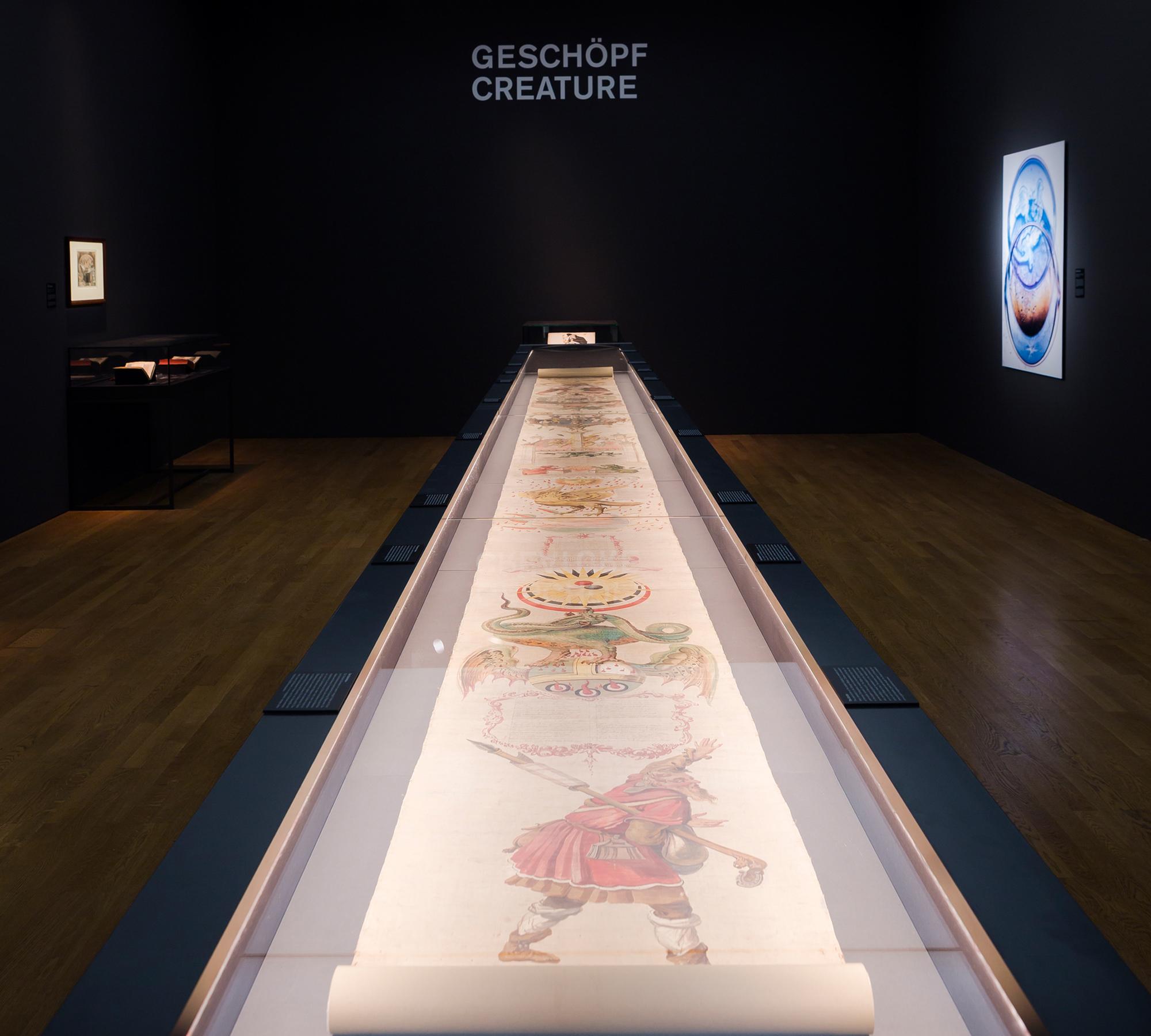 Ausstellungsansicht Alchemie. Die Große Kunst | HIMBEER Magazin
