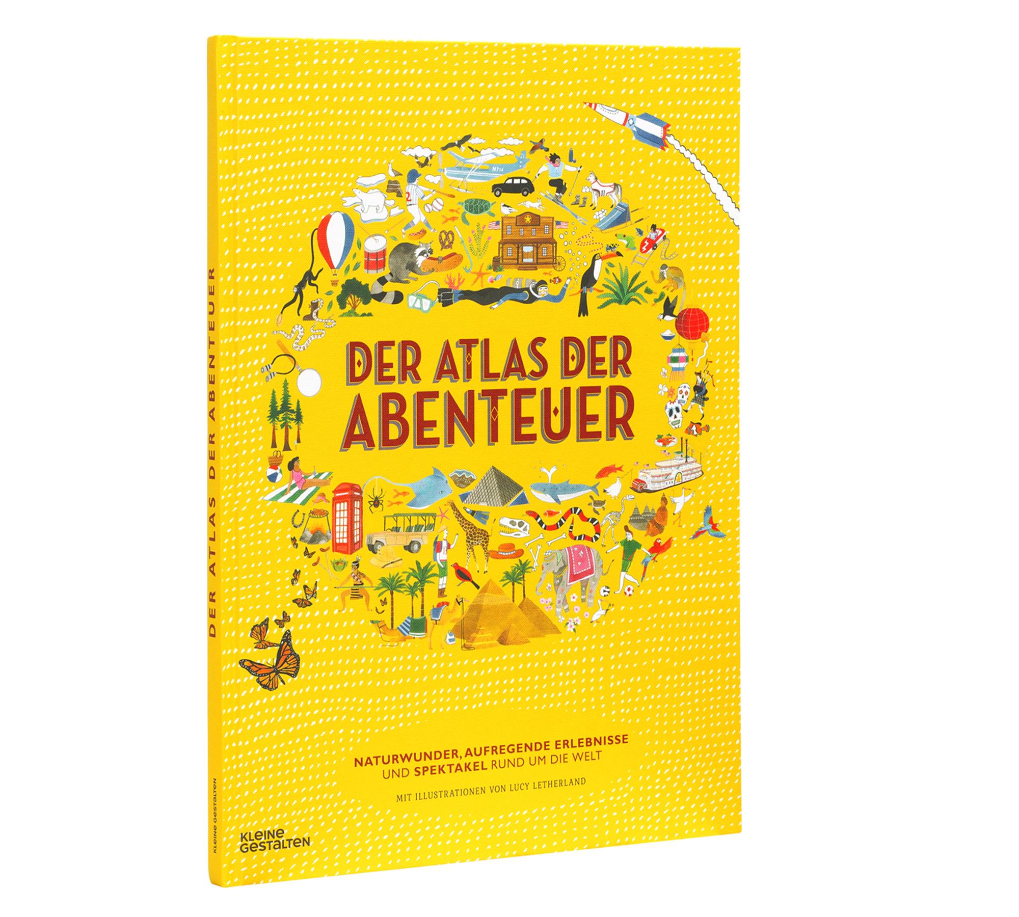 Kinderbuch Der Atlas der Abenteuer | HIMBEER Magazin