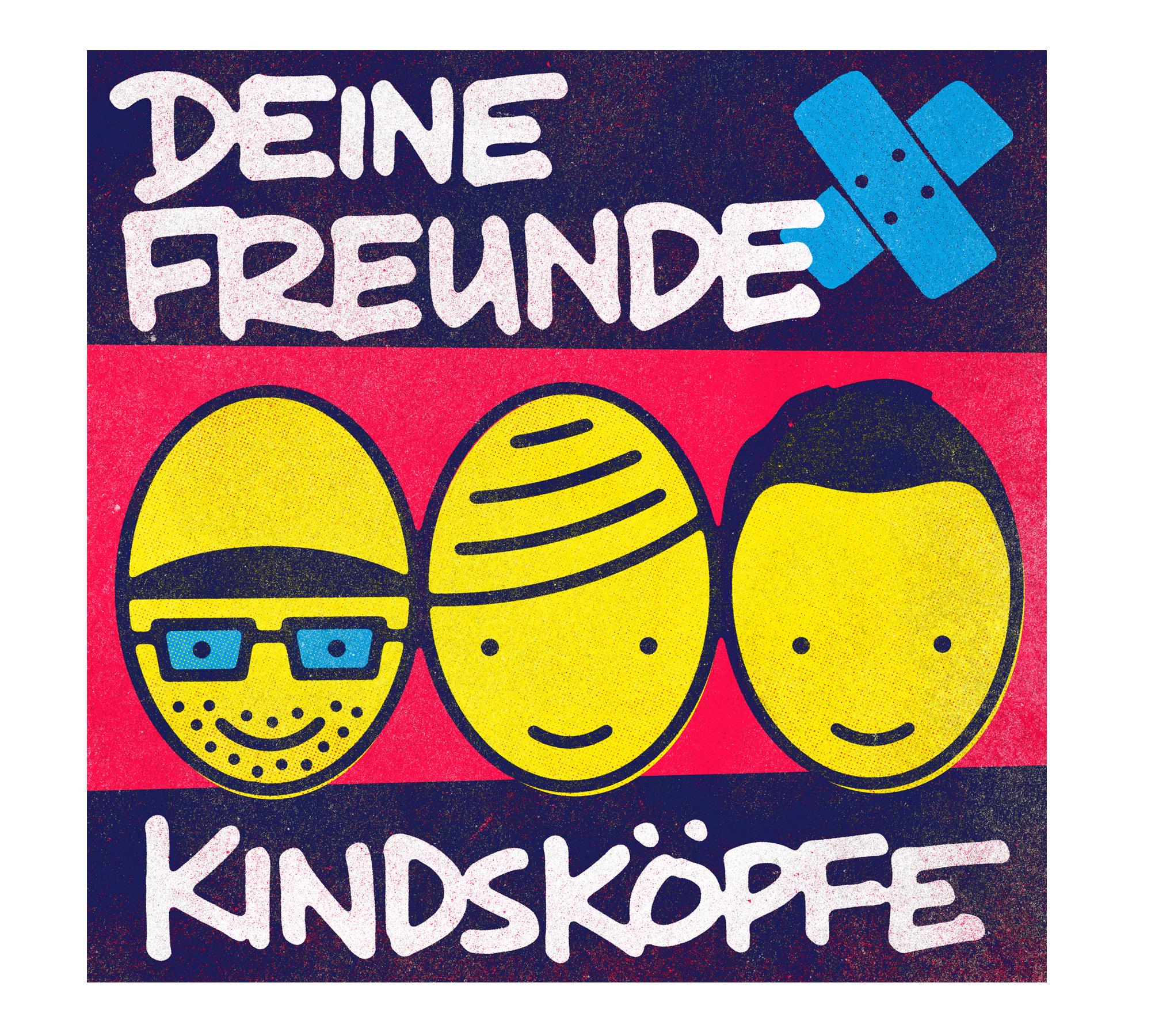 CD Deine Freunde-Kindsköpfe | HIMBEER Magazin