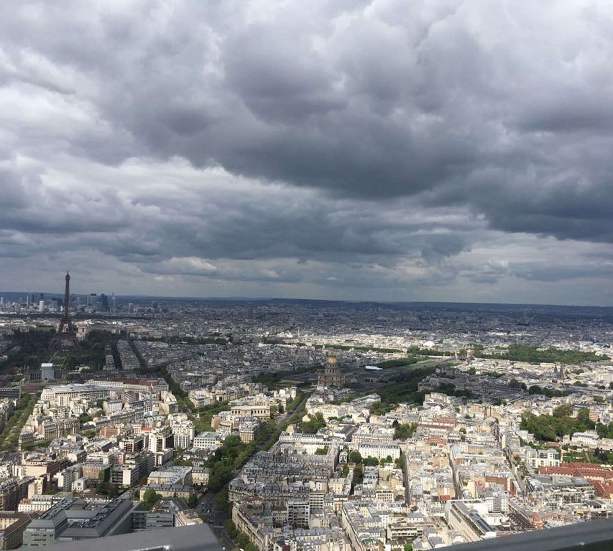 Ausblick vom Tour Montparnasse | HIMBEER Magazin