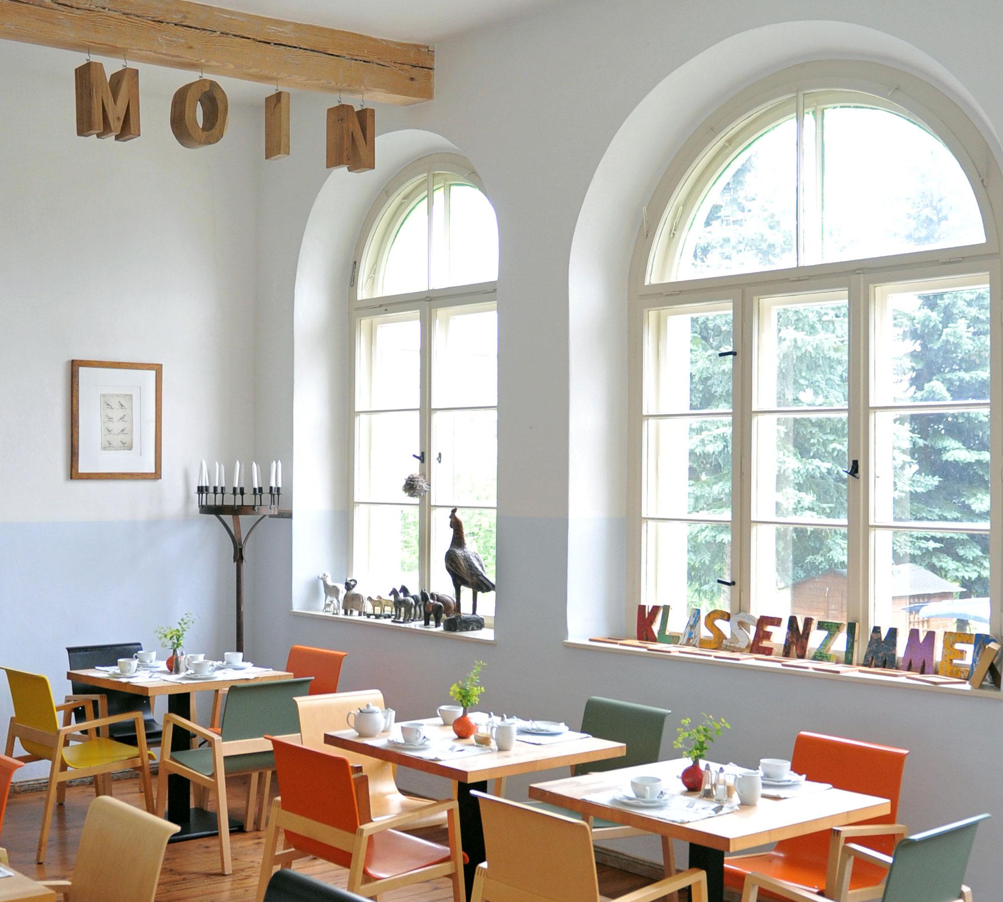 Restaurant Klassenzimmer im Kavaliershaus am Finckensee | HIMBEER Magazin
