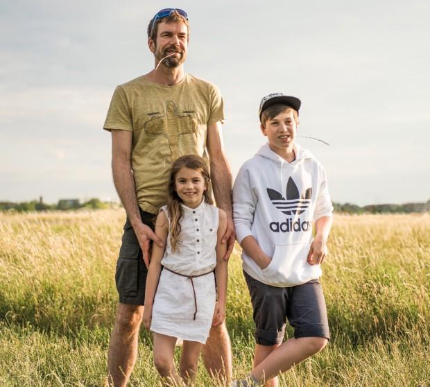 Neue Väter – was sie mit ihren Kindern verbindet: Clemens mit Alma und Jonathan   HIMBEER Magazin