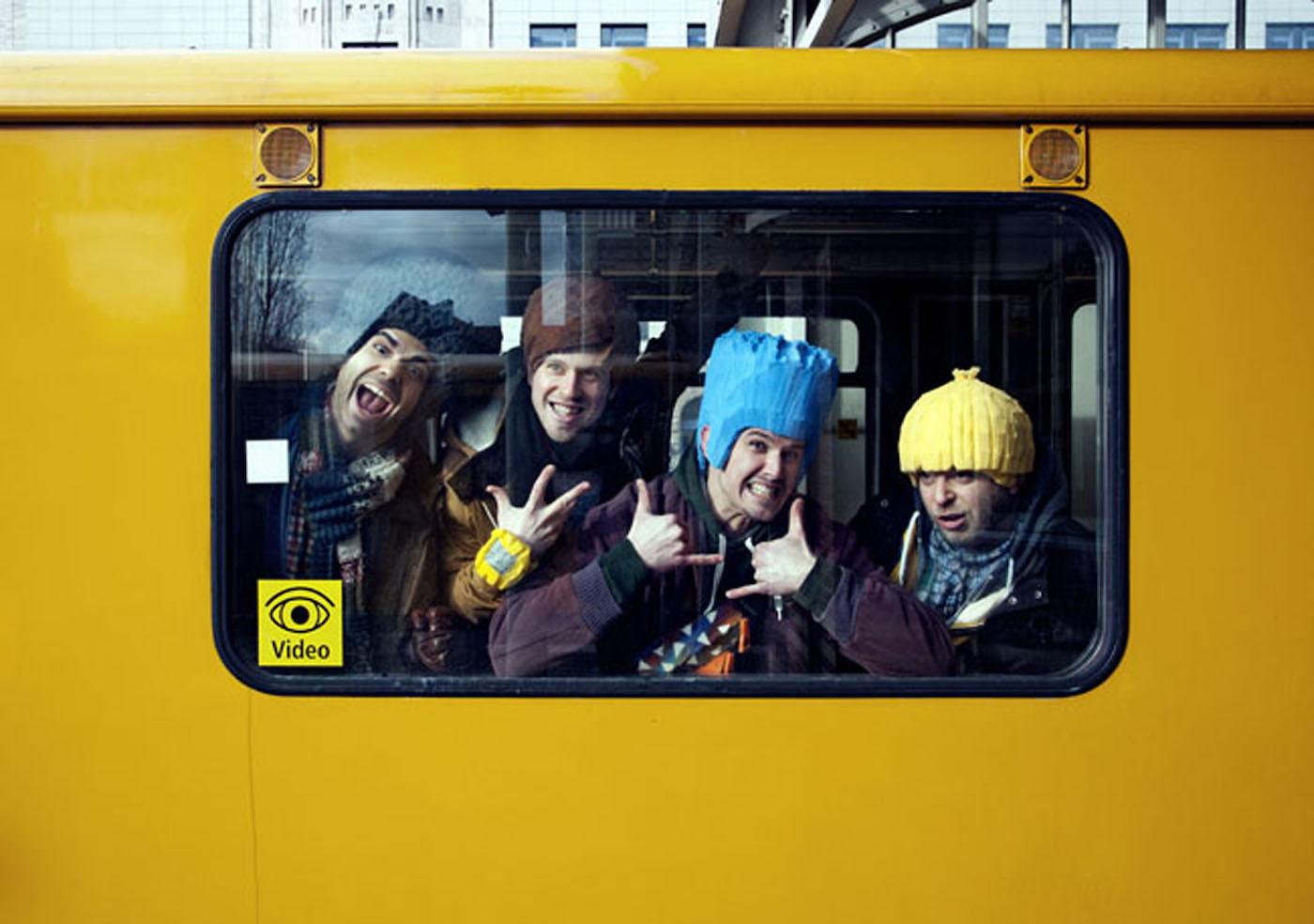 Razzz in der U-Bahn | BERLIN MIT KIND