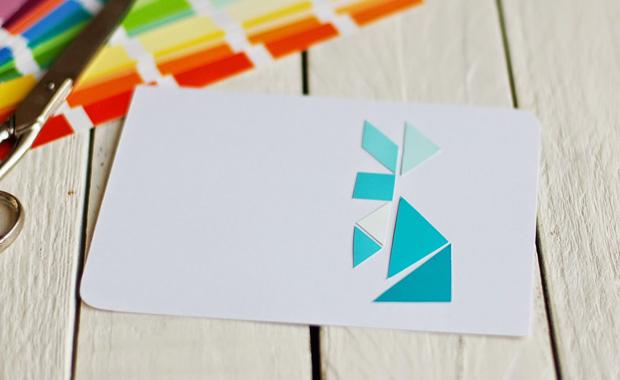 osterkarten basteln tangram osterkarten himbeer magazin. Black Bedroom Furniture Sets. Home Design Ideas
