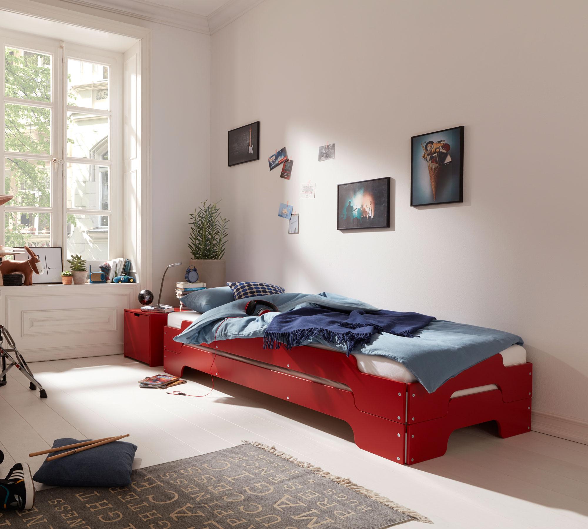 kinderbett designklassiker. Black Bedroom Furniture Sets. Home Design Ideas